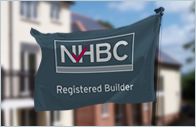 Registered builder site flags & poles